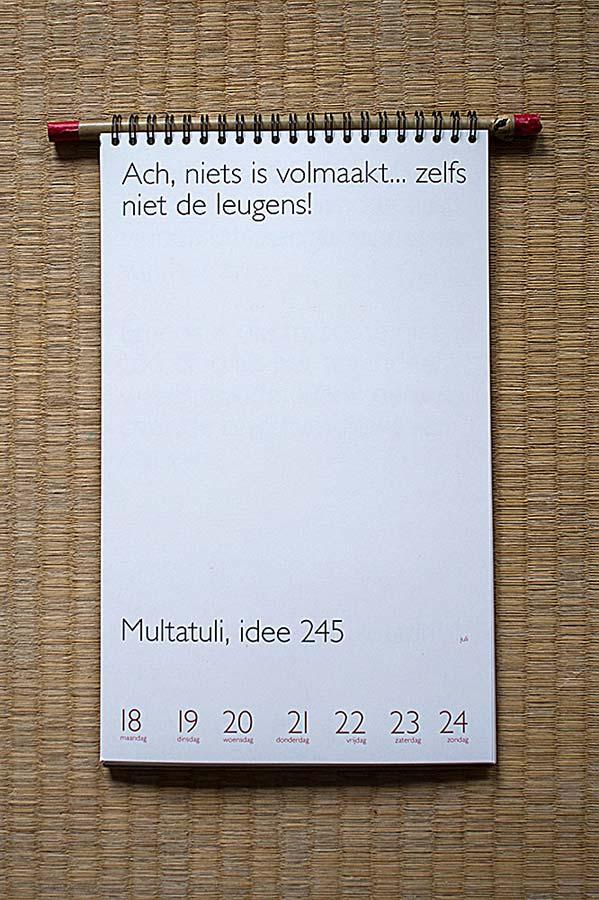 Multatuli jaarkalender